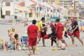 San Javier ya vigila sus playas