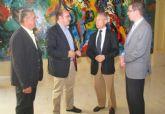 El Alcalde se reúne con el Presidente de la Confederación Hidrográfica del Segura para planificar actuaciones en Puerto Lumbreras