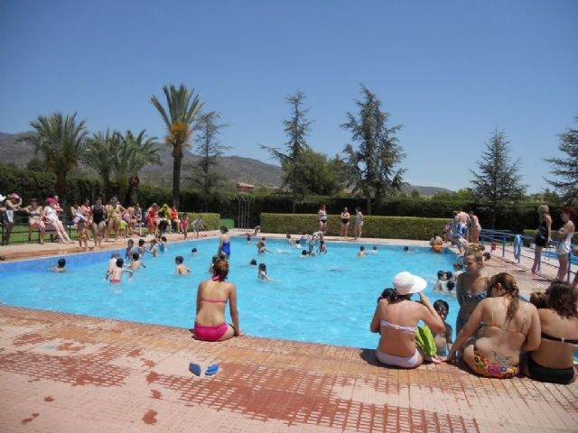 More than 600 users enjoyed the municipal pools during the last weekend