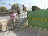 La alcaldesa visita el CEIP 'Comarcal-Deitania'