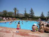 Más de 600 usuarios disfrutaron de las piscinas municipales durante el pasado fin de semana
