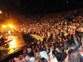 Bisbal encandiló al público que llenaba el auditorio del Parque Almansa