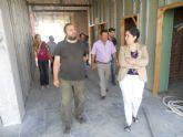 La alcaldesa visita las obras del Centro de Salud 'Totana-sur'