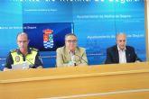 Los accidentes de tráfico descendieron un 25 % en Molina de Segura durante el pasado año 2011