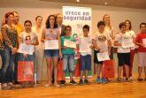 Entrega de premios de la campaña 'Crece en Seguridad' en San Javier
