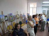 Clausurados los talleres de pintura, escutura y patchwork para mayores
