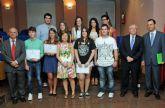 La Universidad de Murcia acogió la entrega de premios de la Olimpiada de Lenguas Clásicas