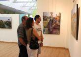 Las 'Huellas de una vida' del pintor Miguel Mellado, al descubierto en Las Torres de Cotillas