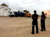 Los Bomberos comienzan a inspeccionar las hogueras de San Juan