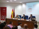 El Presidente de AJE Guadalent�n solicita acciones conjuntas de apoyo a los emprendedores de la Comarca