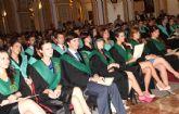 Los nuevos Fisioterapeutas y Terapeutas Ocupacionales de la UCAM reciben sus Becas y Diplomas acreditativos