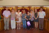 El Ayuntamiento de Alguazas homenajea a sus funcionarios jubilados en los últimos años