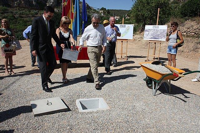 El plan de depuración llega a las zonas rurales más altas de la Región con la nueva depuradora de El Berro, Foto 1