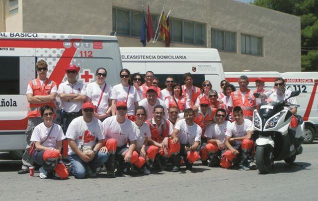 Cruz Roja de Cieza desplegó un amplio dispositivo en el regional junior de ciclismo celebrado en la Vega Alta - 1, Foto 1