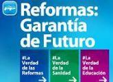 Antonio Cerdá y Joaquín Buendía presentan hoy martes en la sede de Totana la campaña informativa 'La verdad de las reformas'