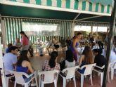 Los jóvenes del grupo de participación SJ.3 celebraron una jornada de actividades con los Mayores de San Javier