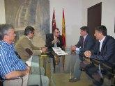 El consejero Manuel Campos se reúne con el alcalde de Los Alcázares