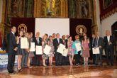 La UCAM entrega los premios a la Innovación en Salud y Alimentación 2012