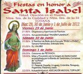 Las fiestas del barrio de la Era Alta, en honor a Santa Isabel, se celebran este próximo fin de semana