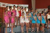 Las torreñas, terceras en la Final Regional de la Liga Escolar de gimnasia rítmica