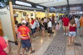 La I Feria del Sabor congrega en su inauguración a centenares de futboleros