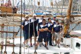 La falta de viento desluce la primera mañana de la regata de Vela Clásica