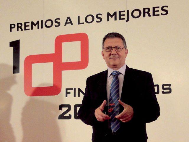 Ginés Clares, Director  de Administración y Finanzas de Grupo Fuertes, premiado por la consultora KPMG y Actualidad Económica como uno de los mejores financieros de España, Foto 1