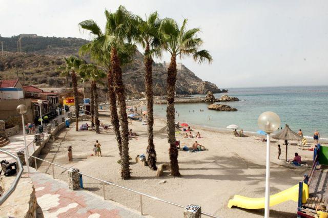 Las once banderas con la Q de calidad turística ya ondean en el litoral cartagenero - 4, Foto 4