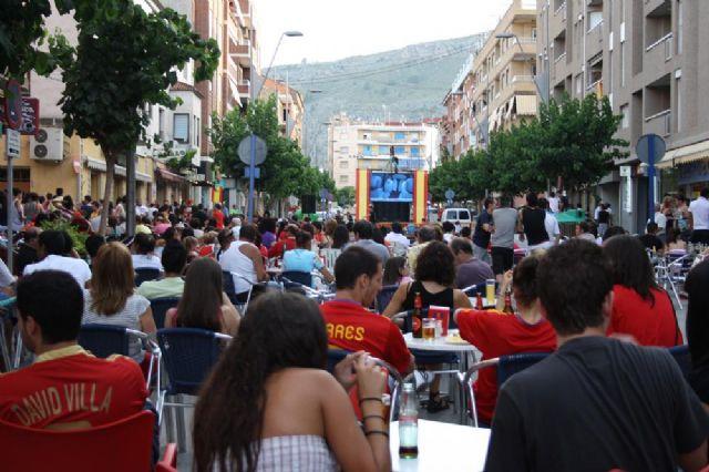 El Ayuntamiento instalará una pantalla gigante en la Gran Vía para ver la final de la Eurocopa - 1, Foto 1