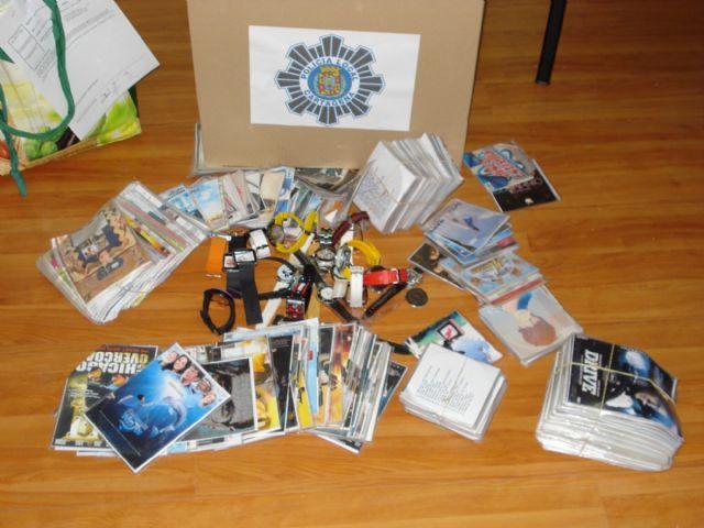 Decomisados más de 800 artículos destinados a la venta ambulante - 1, Foto 1