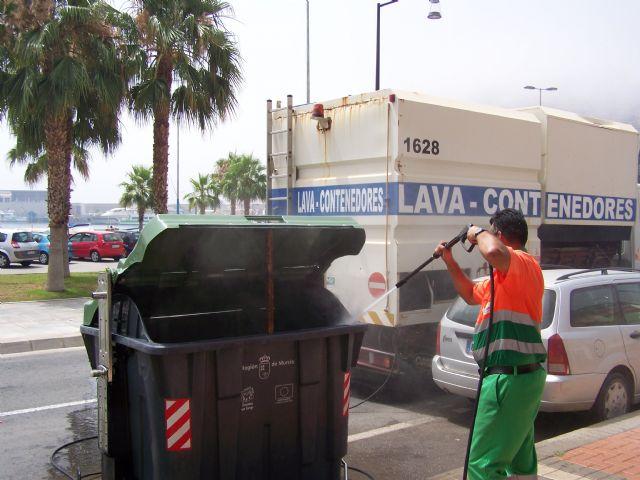 Limpieza activará el domingo el dispositivo de verano en Águilas con la incorporación de una veintena de nuevos operarios - 2, Foto 2