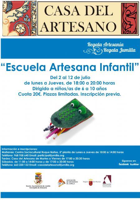 La Casa del Artesano va a acoger una escuela de verano infantil - 1, Foto 1