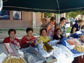 Alguazas acoge en sus Fiestas Patronales 2012 un Encuentro Regional de Encajeras de Bolillos