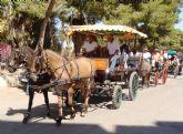 El IX encuentro de carruajes Villa de San Pedro reúne a aficionados al enganche de toda la Región