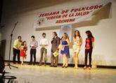 Multitud de artistas de prestigio intervinieron en la clausura de la XXIII Semana del Folclore Virgen de la Salud de Archena