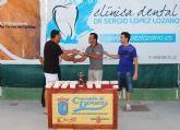 La liga de tenis de Las Torres de Cotillas corona a sus mejores jugadores