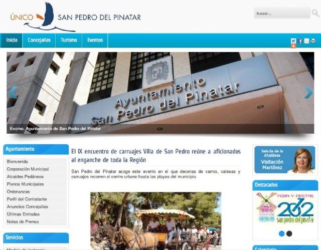 San Pedro del Pinatar renueva su imagen en internet con una web más accesible y ágil para el ciudadano - 1, Foto 1