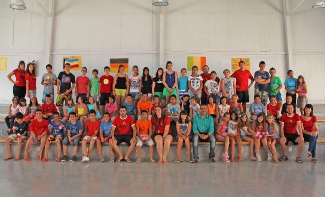 Puerto Lumbreras congrega a 60 jóvenes en el Campamento de verano Bilingüe del Cabezo la Jara - 1, Foto 1