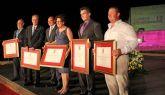 Puerto Lumbreras otorgó galardones y distinciones a ciudadanos y entidades locales con motivo del Día de la Independencia