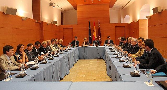 Valcárcel y la presidenta del CDR revindican la importancia de las políticas de cohesión para fortalecer el proyecto Europeo, Foto 1