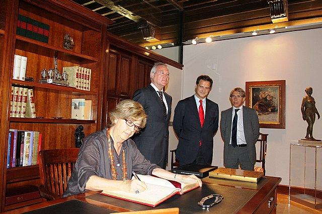 Valcárcel y la presidenta del CDR revindican la importancia de las políticas de cohesión para fortalecer el proyecto Europeo, Foto 2