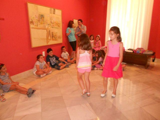 Pequeños actores y actrices en el Museo Ramón Gaya - 2, Foto 2