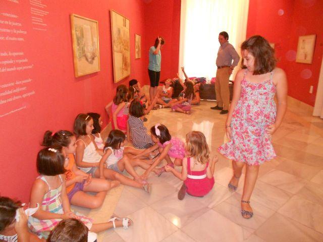 Pequeños actores y actrices en el Museo Ramón Gaya - 3, Foto 3