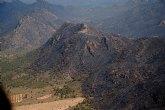 La Comunidad trabaja ya en la declaración de ´zona catastrófica´ para el área afectada por el incendio en la Sierra de Moratalla