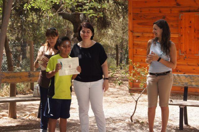 Un total de 26 niños participan en el campamento de las Aulas de la Naturaleza en el paraje de Las Alquerías, Foto 3