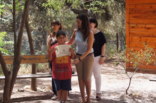 Un total de 26 niños participan en el campamento de las Aulas de la Naturaleza en el paraje de Las Alquerías, Foto 4