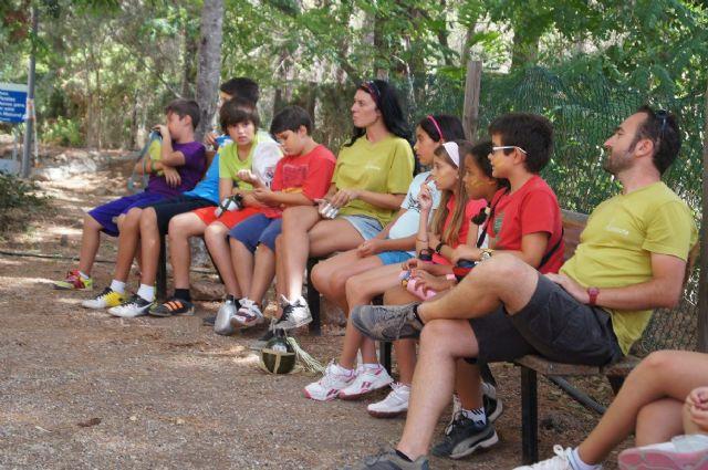 Un total de 26 niños participan en el campamento de las Aulas de la Naturaleza en el paraje de Las Alquerías, Foto 5