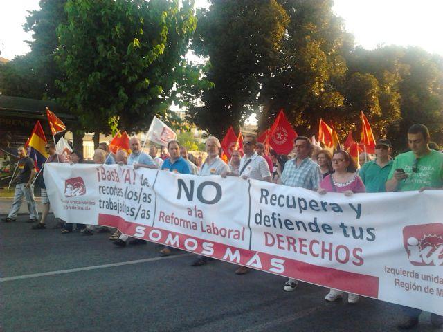 El Grupo Municipal de IU- Verdes en el Ayuntamiento de Alhama de Murcia, presenta para su debate la siguiente moción, Foto 1