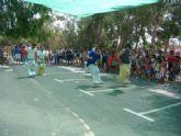 Las fiestas 2012 del Barrio del Carmen de Alguazas recrean en niños y mayores los juegos infantiles tradicionales