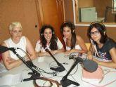 Las Majas Juveniles y la Comisión de Fiestas 2012 del Barrio del Carmen de Alguazas, en los micrófonos de Alguazas Radio